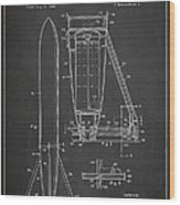 Recoverable Rocket Launching Unit Wood Print
