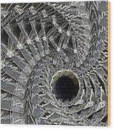 Recursion Arc Wood Print