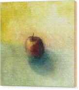 Red Apple No. 4 Wood Print