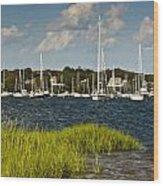 Red Brook Harbor Wood Print