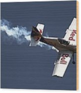 Red Bull - Aerobatic Flight Wood Print