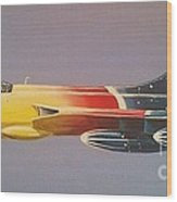 Red Bull Hawker Hunter Miss Demeanour Wood Print