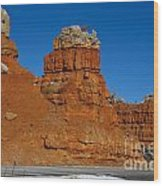 Red Canyon Dixie National Forest Wood Print
