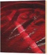 Red Chair II Wood Print