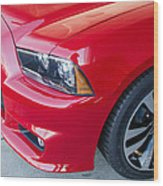 Red Charger 1508 Wood Print