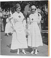 Red Cross Parade, 1918 Wood Print