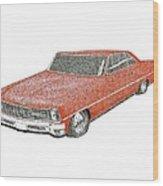 Red Desire Wood Print