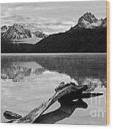 Red Fish Lake Idaho Wood Print