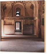 Red Fort Agra India Wood Print