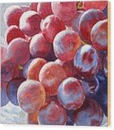 Red Grape Essence Wood Print