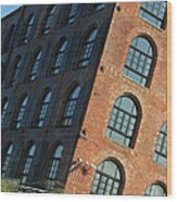 Red Hook Dream Lofts Wood Print