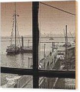 Red Hook Window Wood Print