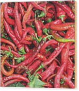 Red Hot Chilli Peppers Wood Print