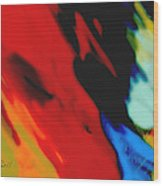 Red Hot Fiesta  Wood Print