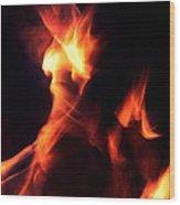 Red Hot Wood Print