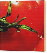 Red Hot Tomato Wood Print