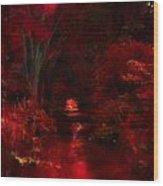 Red IIi Wood Print