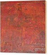 Red Jasper Stone Wood Print