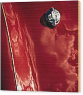 Red Jupiter Sky Wood Print by Phil 'motography' Clark