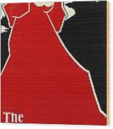 Red Lady The Chap Book1895 Wood Print