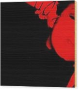 Red Light Special Wood Print