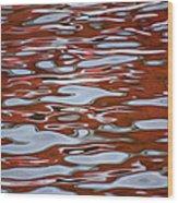 Red Meditation Wood Print