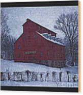 Red Mill Antique Barn Wood Print