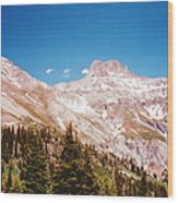 Red Mountain Pass Wood Print