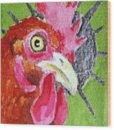 Red Nugget Wood Print