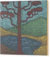 Red Ponderosa Wood Print