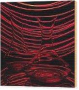 Red Rhythm II Wood Print by Davorin Mance