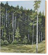 Red River Wood Print