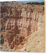 Red Rock Bryce Canyon  Wood Print