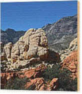 Red Rock Canyon 2 Wood Print