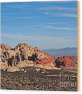 Red Rock Canyon Las Vegas Wood Print