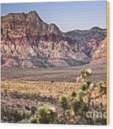 Red Rock Canyon Lv Wood Print