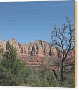 Red Rock Country - Sedonna Wood Print