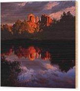 Red Rock Crossing Sedona Wood Print