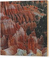 Red Rock Wood Print