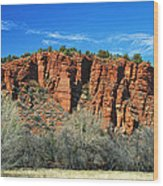 Red Rock State Park Wood Print