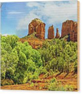 Red Rock State Park Sedona Arizona Wood Print