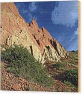 Red Rocks 4 Wood Print