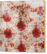 Red Rubies Wood Print