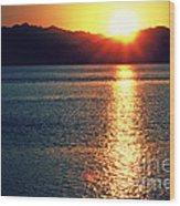 Red Sea Gold Wood Print