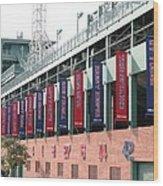 Red Sox Heroes Wood Print