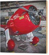 Red Speedster Wood Print