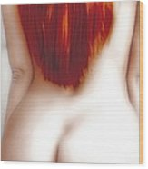 Red Temptation Wood Print by Joachim G Pinkawa