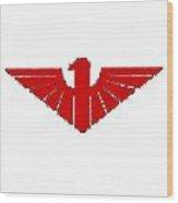 Red Thunderbird 2 Wood Print