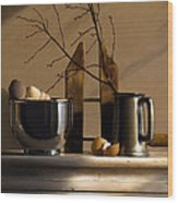 Red Twig Dogwood Wood Print by Larry Preston