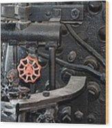 Red Valve S P R R 1673 Wood Print